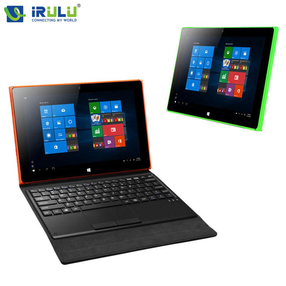 Original iRULU Walknbook 10.1'' Windows Tablet Intel CPU Windows 10 Quad Core Laptop Notebook 2 in 1 2GB/32GB Dual Cam WiFi(China (Mainland))