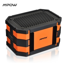 Mpow MBS5 Armor Bluetooth Speaker Passive Loudspeakers Portable Waterproof Outdoor MP3 Speakers Power Bank for iPhone Xiaomi(China (Mainland))