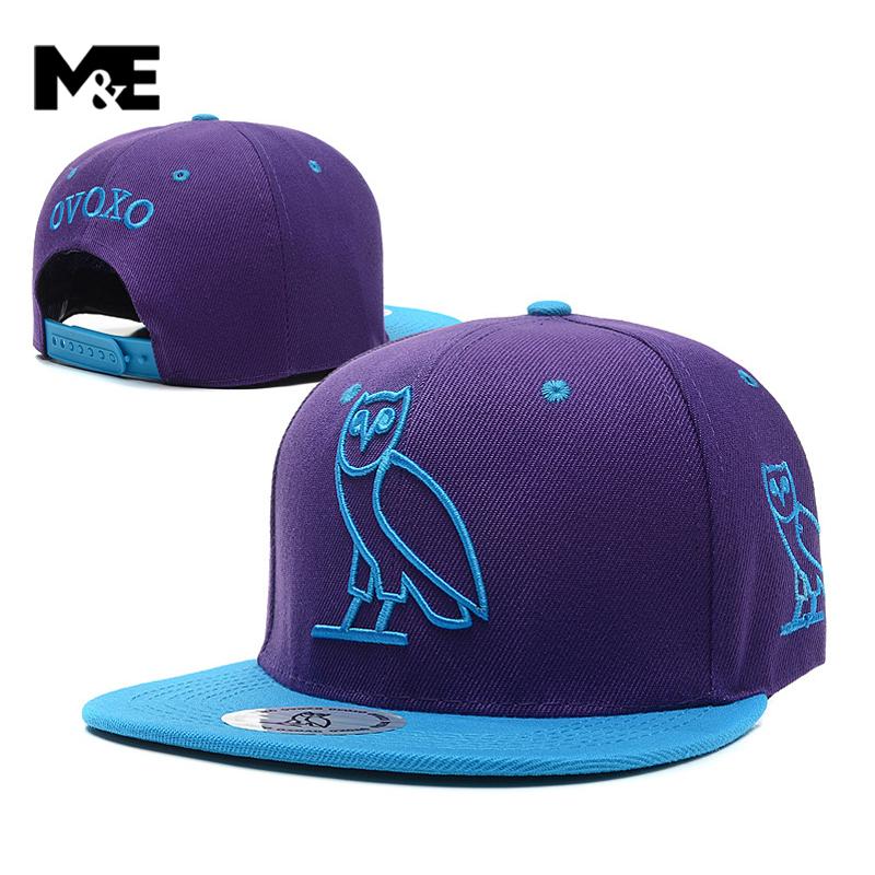 2016 Hot black woes Strapback Sportcap OVO Drake Hotline Bling hat 6 panel snapback baseball cap GOLD OWL DENIM HAT [HUB0168](China (Mainland))