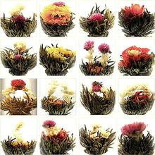 Jasmine Daisy Blooming Flower Tea Bag Chinese Ball Blooming Flower Herbal Tea Wholesale Free Shipping