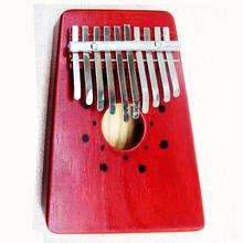 10 Key Finger Mbira Kalimba Thumb Pocket Piano Kids Wood African Karimba Mini Hand Marimba Percussion Musical Instrument Gifts(China (Mainland))