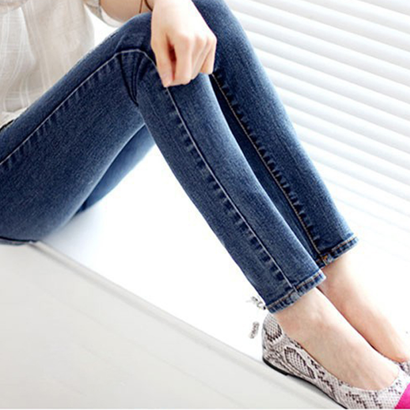 New 2015 fashion Women's jeans Pants Female, High Quality Skinny Stretch Pencil Denim Ladies' slim Jeans Brand(China (Mainland))