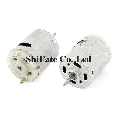 2 Pcs DC 3-36V 12000RPM High Speed Electric Mini Motor for RC Model Toy(China (Mainland))