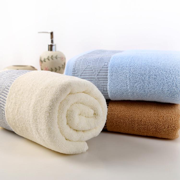 70*140cm High Quality Cotton Bath Towels for Adults,Jacquard Decorative Beach Bathroom Bath Towels,Terry Bath Towels(China (Mainland))