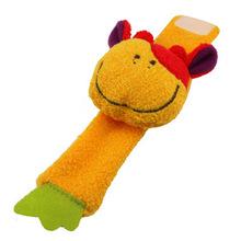 unid animal beb juguetes meses del beb de la felpa sonajeros juguete