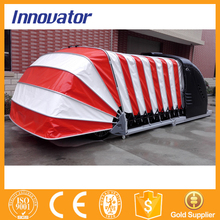 Automatic solar power retractable outdoor car canopy IT211(China (Mainland))
