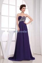 free shipping 2016 new design reddish blue evening gowns maxi dresses long brides maid dresses vestidos formales evening dresses(China (Mainland))