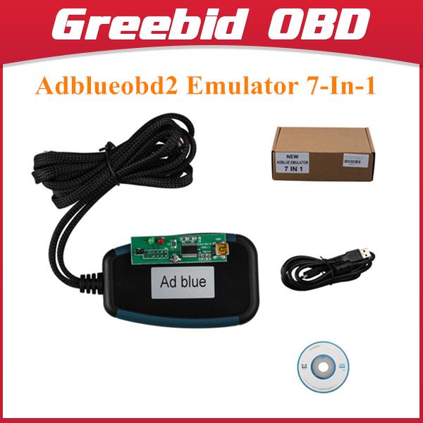 Adblueobd2 Emulator 7-In-1 With Programming Adapter Emulator 7 in 1 For Mercedes-Benz/Man/Scania/Volvo/Iveco/DAF/Renault Trucks(Hong Kong)