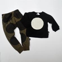 KIKIKIDS Kids Boys& Girls Long Sleeve Patch Circle Sweatshirts W/ Fleece inside, Children Kids Nununu Cotton Long Sleeve Hoodies(China (Mainland))