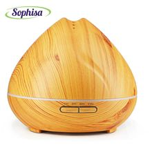 Sophisa 300ml aroma oil diffuser essential oil humidifier aromatherap mist maker fountain business gift mother gifts SP1641-Y(China (Mainland))