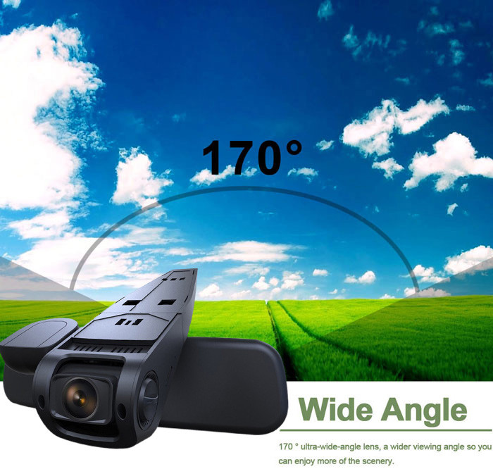 Newest 1.5'' 170 Degree Wide Angle Lens Car DVR HD1080P High Resolution Car Dash Cam Video Recorder With Mic and AV Out Function