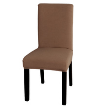 High Quality Soft Polyester Spandex Chair Cover Slipcover Red Blue Brown Camel 3 Size S / M / L Optional(China (Mainland))