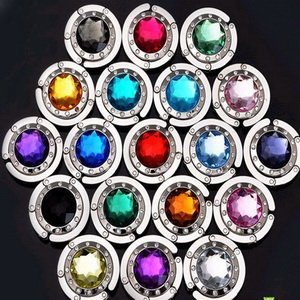 FREE SHIPPING+Factory Outlet Wholesales+Wedding Favors Purse holder/Bag Hanger with Acrylic Mixture Colors +100pcs/Lot
