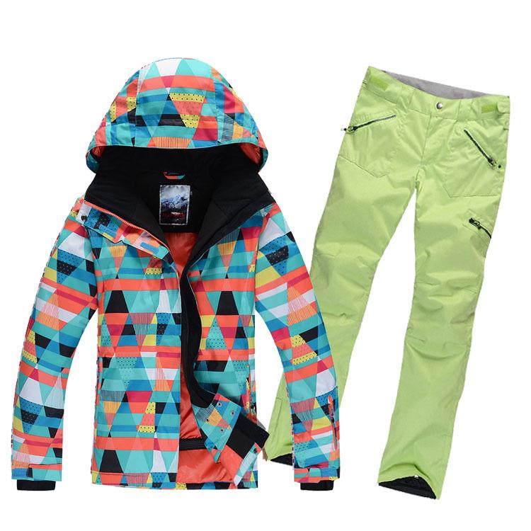 Womens Snowboard Jacket And Pants Ski Jacket Pants Snowboard