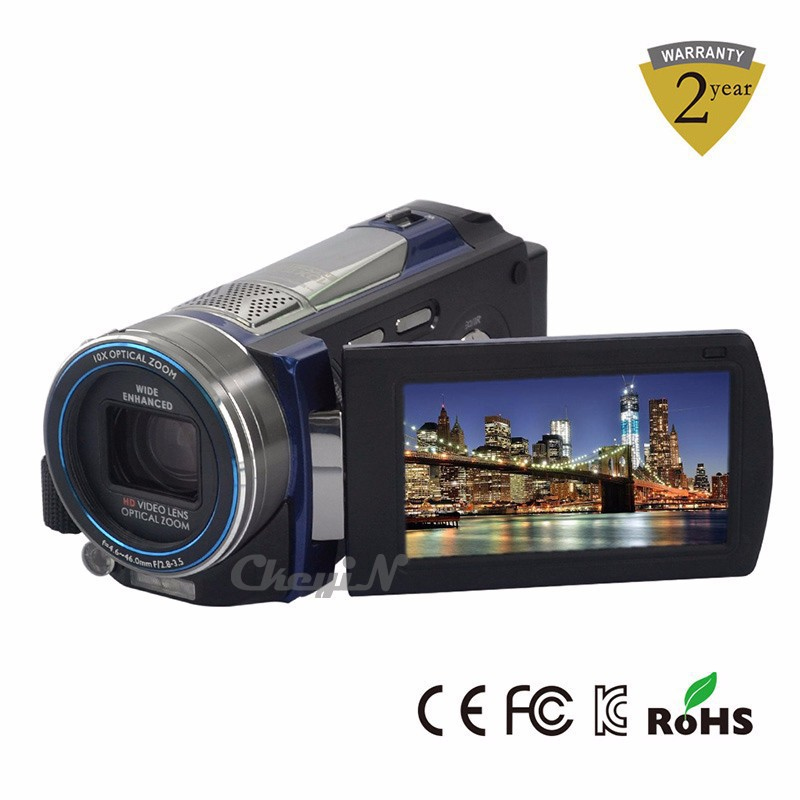 """Professional 100 X Zoom 3"""" Touch Screen Video Camera 16MP Full HD 1080P Digital Camcorder With IR Night Vision Camera -P4649(China (Mainland))"""