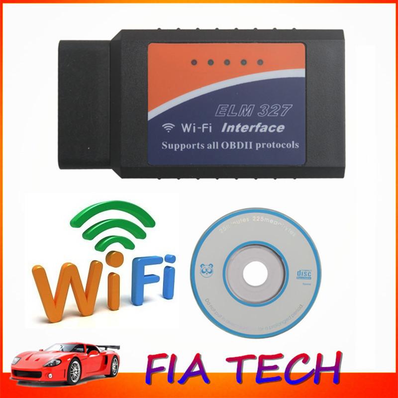 Оборудование для диагностики авто и мото ELM327 WIFI WIFI ELM327 OBD OBD2 iPhone iPad iPod