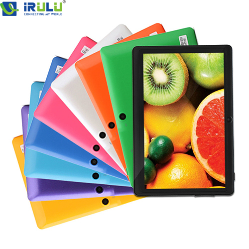 "iRULU eXpro 7"" Tablet PC 8GB Android Tablet Computer Quad Core Dual Camera External 3G WIFI with Keyboard Case 2015 New Hottest(China (Mainland))"