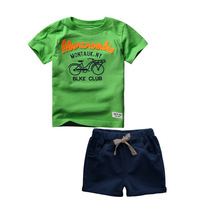 Buy 2017 Summer 2-6 Years Kids Baby Boys Sport Brand Boys Clothing Set 100% Cotton Cartoon T-shirts Shorts Children Clothes for $11.20 in AliExpress store