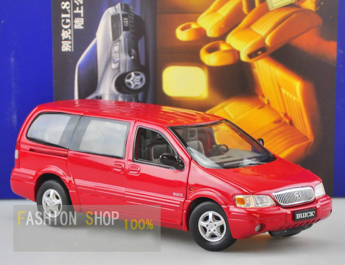 Classical Modern Original Car 1:24 Buick GL8 Alloy Die Cast Scale Car Model Toys Business Car Collection Gift(China (Mainland))