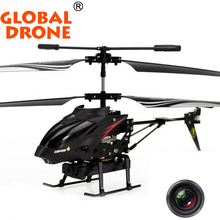 WLtoys S977 3.5 Ch Radio Remote Control Rc Metal Gyro Helicopter rc helicopter with Camera free shipping