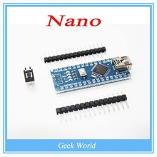 1PCS Nano 3.0 controller compatible with nano CH340 USB driver NO CABLE for Arduino NANO V3.0(China (Mainland))
