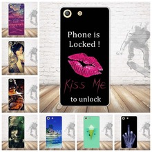 Buy Soft TPU Coque Sony Xperia M5 Case Silicon Girl Style Back Cover Funda Sony Xperia M5 Case Capa for $1.45 in AliExpress store
