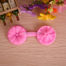 Free shipping Cherry Flower shaped 3D Silicone Mold Fondant Cake Decorating Tools kitchen accessories