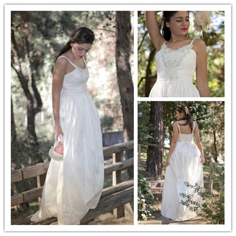 Boho Wedding Dress Size 18 : Mansa ivory bohemian wedding dress sexy beaded long beach