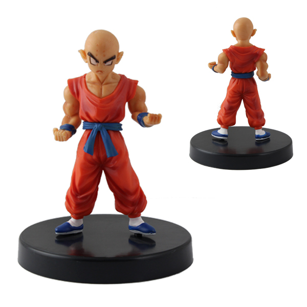Anime figure Dragon ball Z standing with bottom plate PVC Action figure 7.8cm/3.12'' free ship(China (Mainland))