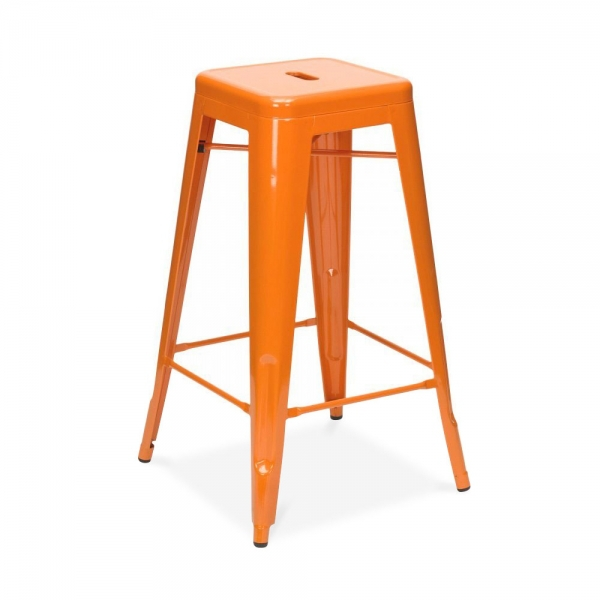 Free Shipping Xavier Pauchard Orange 75cm Powder Coated Stool<br><br>Aliexpress