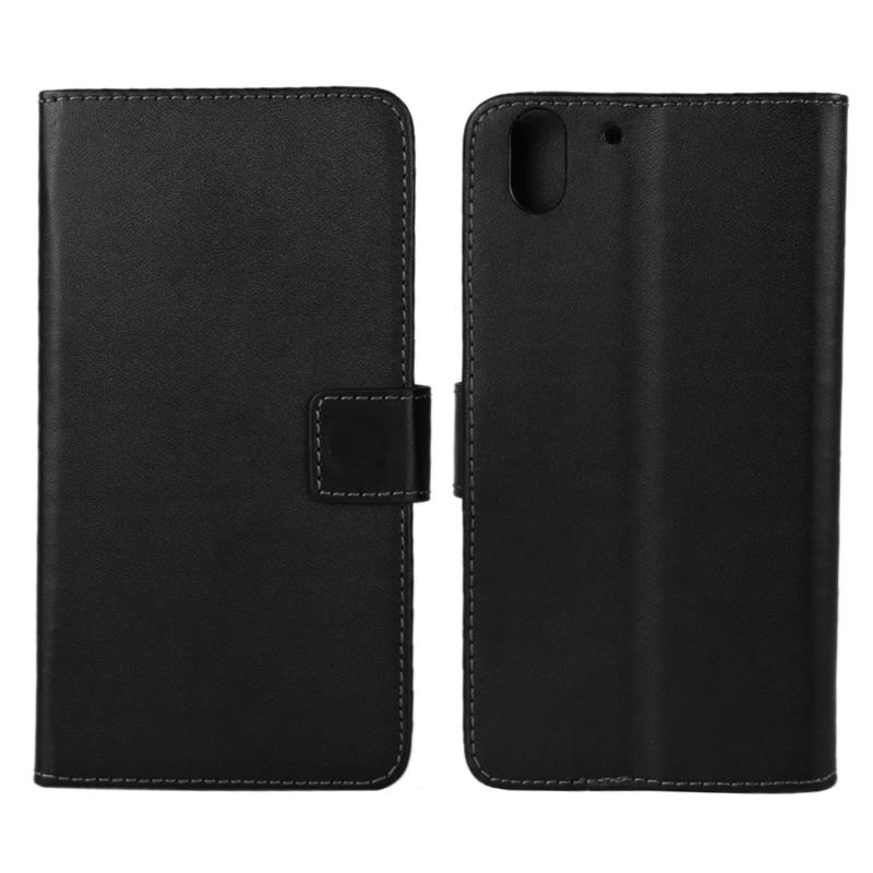 30 pcs/lot Card Slot Flip 100 Grain PU Leather Stand Wallet Case Cover HTC Desire Eye M910X