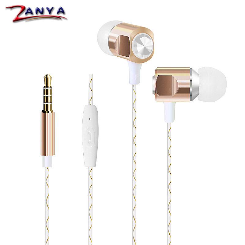 5 Colors Colorful In- Ear Music Earphone 3.5mm Mobilephone MP3 MP4 Universal for iPhone 5S 5SE 6 6s Plus Headset with Microphone(China (Mainland))