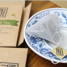 Royal Puer Tea 16 pieces Whole Leaves Pu er tea in Pyramid Tea Bags 1 Gift