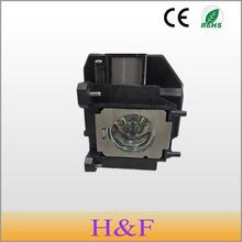 Envío gratis ELPLP67 replacement lamp ( V13H010L67 ) compatible lámpara de repuesto con vivienda para Epson Proyector Projetor Luz lambasi(China (Mainland))