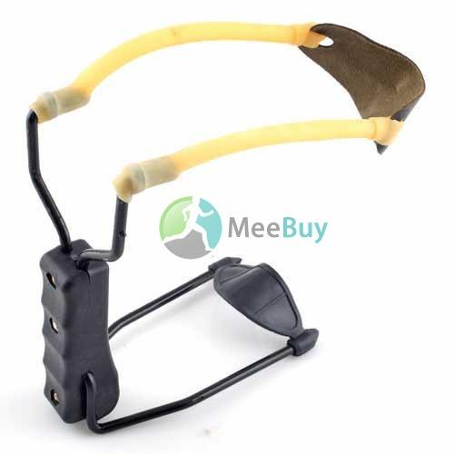 MiniDeal New Folding Wrist Sling Shot Slingshots High Power Velocity Hun Campingt #1(China (Mainland))