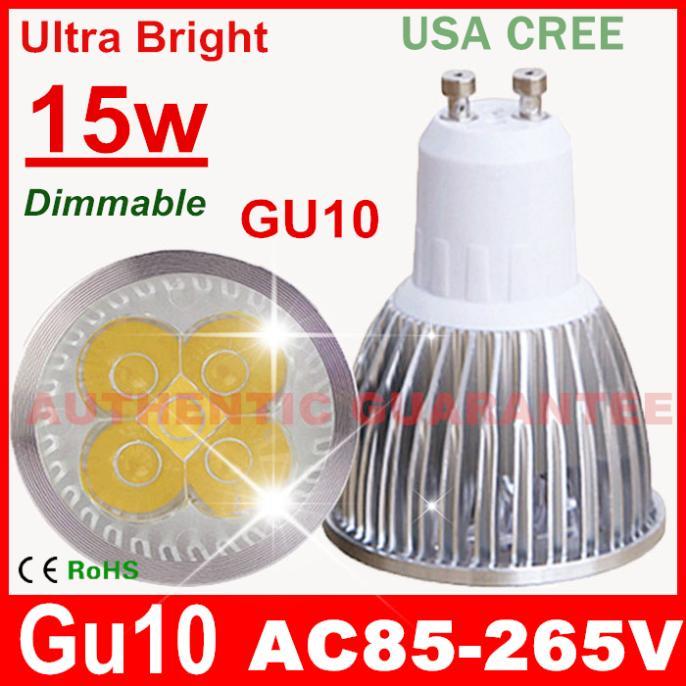 Светодиодная лампа Pocketman 1 9W 12W 15W GU10 110V 220V /10 downlight