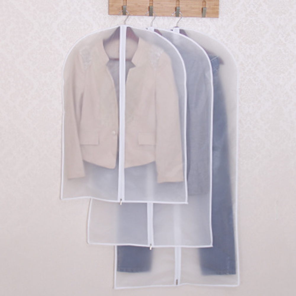 Home Clear Dress Clothes Garment Suit Cover Case Dustproof Storage Bags Protector(China (Mainland))