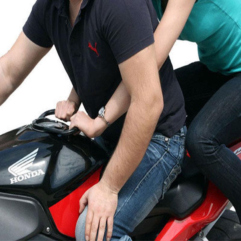 2015 16 Motorcycle rear seat passenger Tank armrest hand grip tank handle bar grip For KAWASAKI NINJA 250 NINJA 300(China (Mainland))