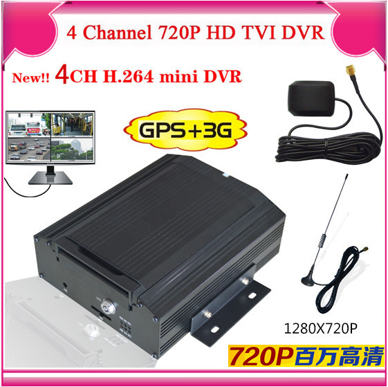 New GPS tracking 4ch car dvr 3g & gps function from wantong gongchuang(China (Mainland))