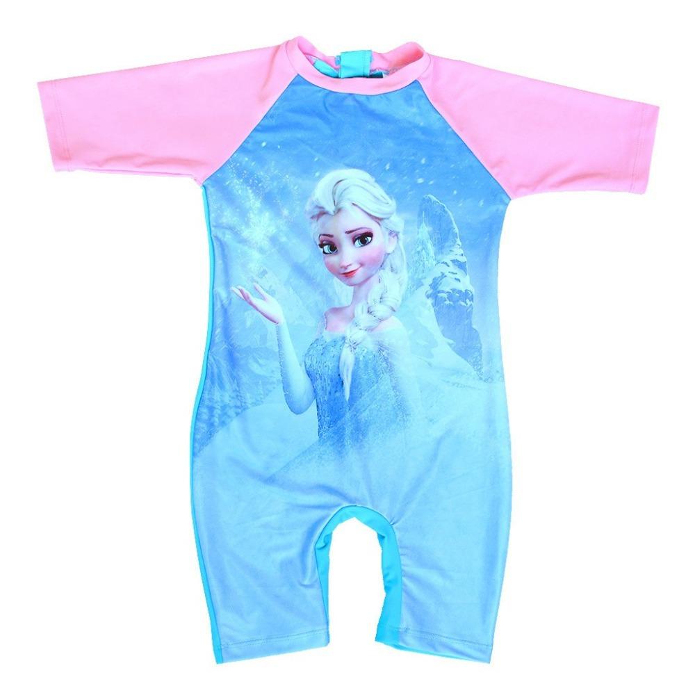 3 10Y Kids UV Protective Rash guard Baby girls swimwear ...