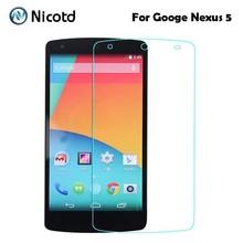 Buy 2.5D Ultrathin Premium Tempered Glass Film LG Google Nexus 5 Nexus5 D820 D821 EM01L Screen Protector Protective Film for $1.29 in AliExpress store