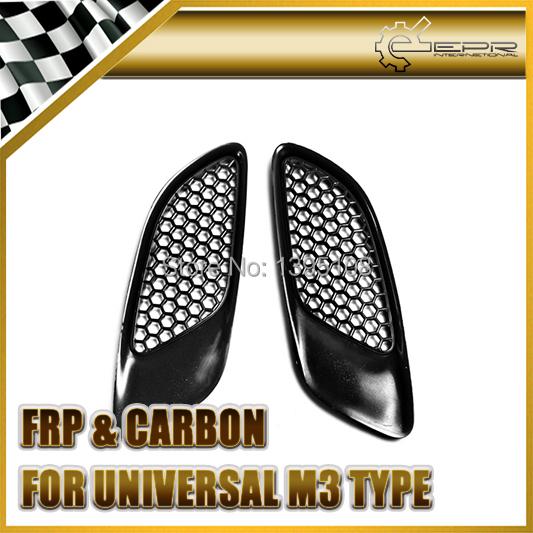 Car Styling Universal Auto Car Plastic Hood Vents 2pcs (E92 M3 Type)<br><br>Aliexpress