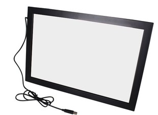 "55"" real 4 Points usb ir touch screen panel kit for advertising kiosk, touch table,smart TV,lcd & monitor(China (Mainland))"