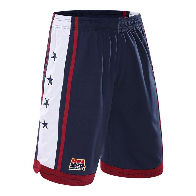 2016 New Fashion USA Dream Team Men Basketball Shorts Running Short Fitness Gym Training Short Quick-dry Loose Beach Sport Short(China (Mainland))