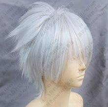 Dramatical Murder DMMD Clear Short Silver White Cosplay Wig free shipping