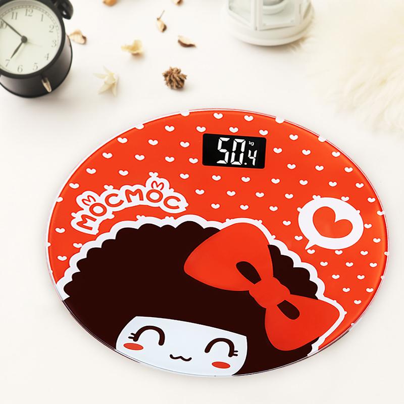Promotion! 5KG-150KG Cute Cartoon Electronic Bathroom Scales Digital Health Personal Weighing Weight Scale Balanca De Banheiro(China (Mainland))