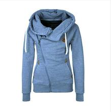 New Fashion Women Hoody 8 Colors Long Sleeve Slim Fit Jumper Hoodies Coat Sweatshirt with hooded free shipping LN835E(China (Mainland))