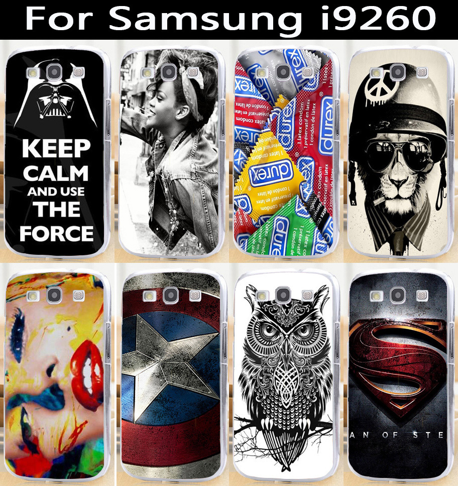 2014 New Product colorful DIY mobile phone protective case hard Back cover Skin Shell for Samsung Galaxy Premier i9260(China (Mainland))