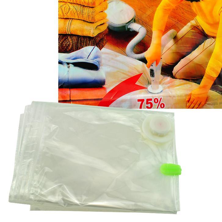 NEW 6 PACK SMALL Space Saver Bags Storage Bag Vacuum Seal Organizer(China (Mainland))