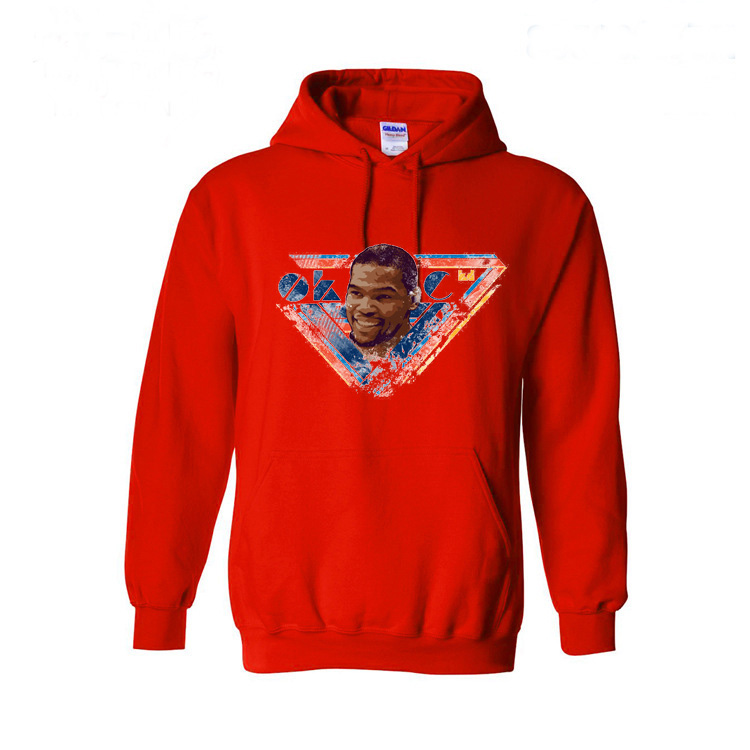 kevin durant KD Mens Long Sleeve Hoodies Fashion Casual Hip Hop Sweatshirt Hoodie Men's Sportswear 5 Color Size XS-XXL(China (Mainland))